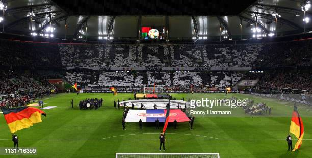 A general view prior to the International Friendly match between Germany and Serbia at Volkswagen Arena on March 20 2019 in Wolfsburg Germany