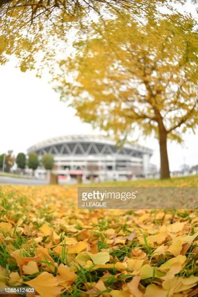 General view prior to the J.League Meiji Yasuda J1 match between Kashima Antlers and Urawa Red Diamonds at the Kashima Soccer Stadium on November 29,...