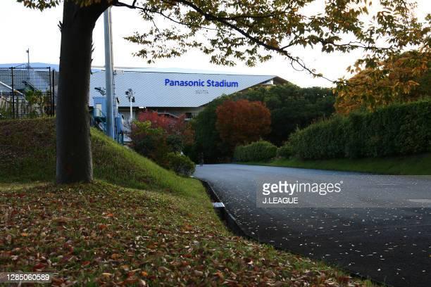 General view prior to the J.League Meiji Yasuda J1 match between Gamba Osaka and Vissel Kobe at Panasonic Stadium Suita on November 11, 2020 in...