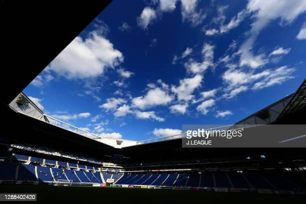 General view prior to the J.League Meiji Yasuda J1 match between Gamba Osaka and Sagan Tosu at Panasonic Stadium Suita on November 29, 2020 in Suita,...