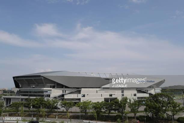General view prior to the J.League Meiji Yasuda J3 match between Gamba Osaka U-23 and Cerezo Osaka U-23 at Panasonic Stadium Suita on July 05, 2020...