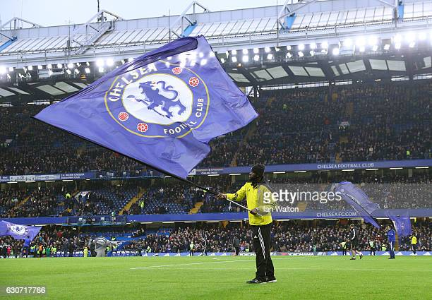 A general view prior to the Premier League match between Chelsea and Stoke City at Stamford Bridge on December 31 2016 in London England