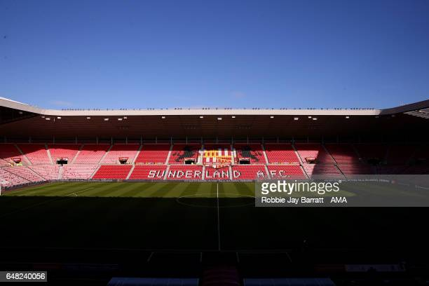 General View prior to the Premier League match between Sunderland and Manchester City at Stadium of Light on March 5 2017 in Sunderland England