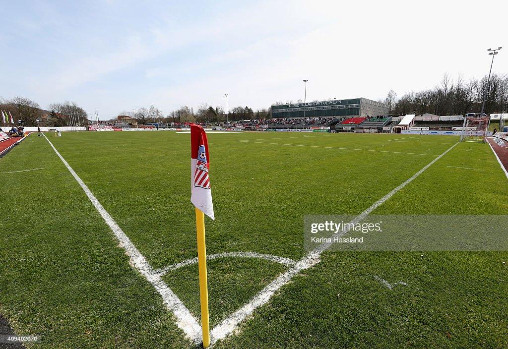 FSV Zwickau v FC Carl Zeiss Jena  - Regionalliga Nordost : News Photo