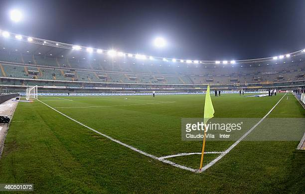 General view prior to the Serie A match between AC Chievo Verona and FC Internazionale Milano at Stadio Marc'Antonio Bentegodi on December 15, 2014...