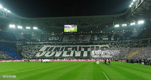 A general view prior to the Serie A match between Juventus and Torino FC at Juventus Arena on December 1 2012 in Turin Italy