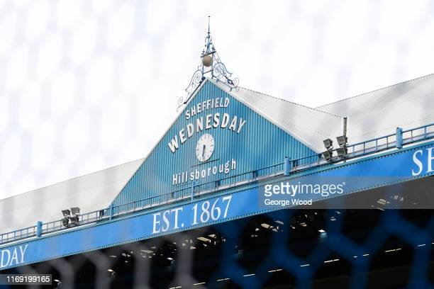 A general view prior to the Sky Bet Championship match between Sheffield Wednesday and Luton Town at Hillsborough Stadium on August 20 2019 in...
