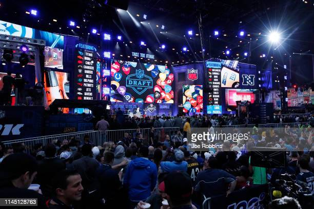 General view prior to the start of the first round of the NFL Draft on April 25 2019 in Nashville Tennessee