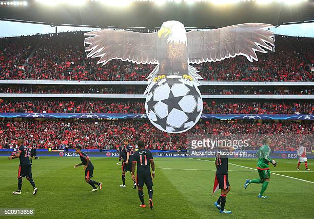 A general view prior to the UEFA Champions League quarter final second leg match between SL Benfica and FC Bayern Muenchen at Estadio da Luz on April...