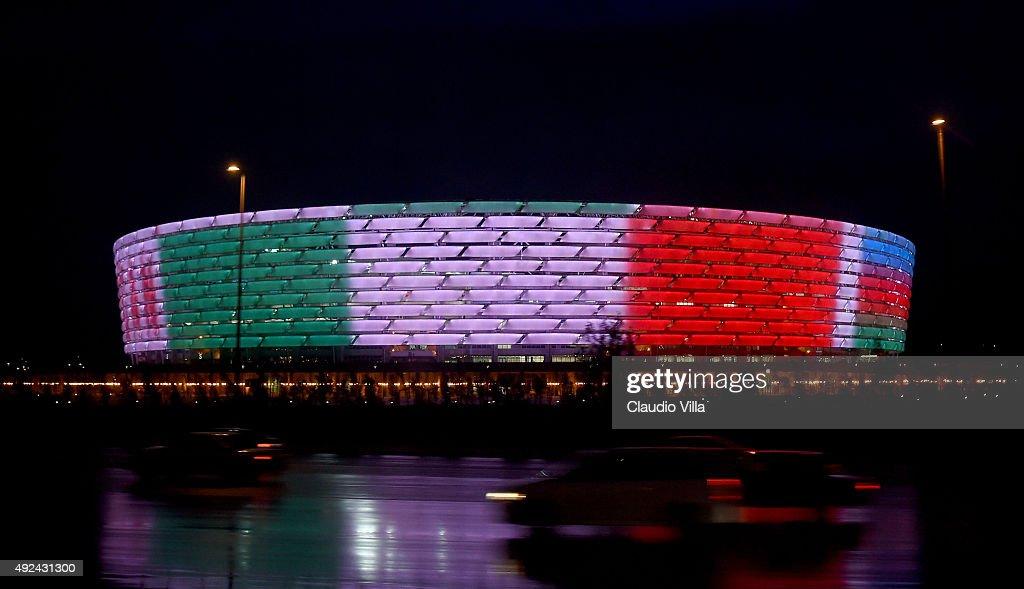 Azerbaijan v Italy - EURO 2016 Qualifier : Foto di attualità