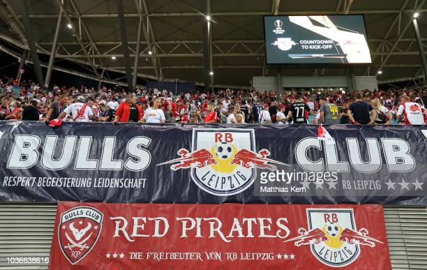 A general view prior to the UEFA Europa League Group B match between RB Leipzig and FC Salzburg at Red Bull Arena on September 20 2018 in Leipzig...