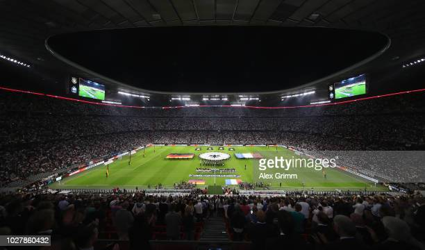 A general view prior to the UEFA Nations League group A match between Germany and France at Allianz Arena on September 6 2018 in Munich Germany
