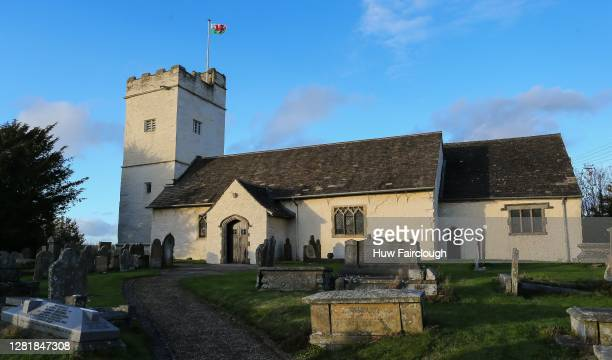 General view Saint Sannon's Church Bedwelty on October 23, 2020 in Blackwood, Wales. Wales will go into a national lockdown from Friday until...