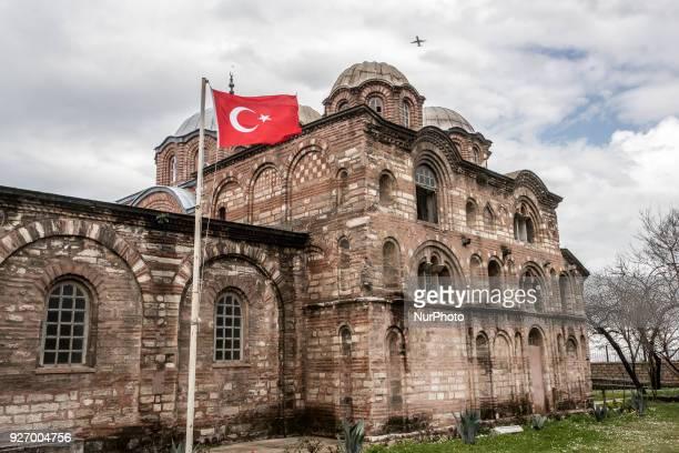 General view seen Kariye museum in Yenikapi, Istanbul on 3 March 2018.