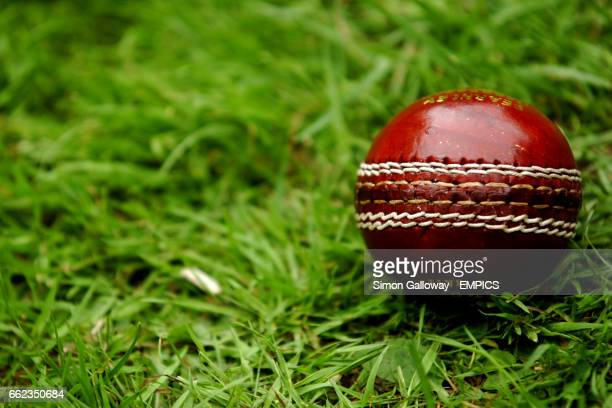 General view showing a Cricket Ball