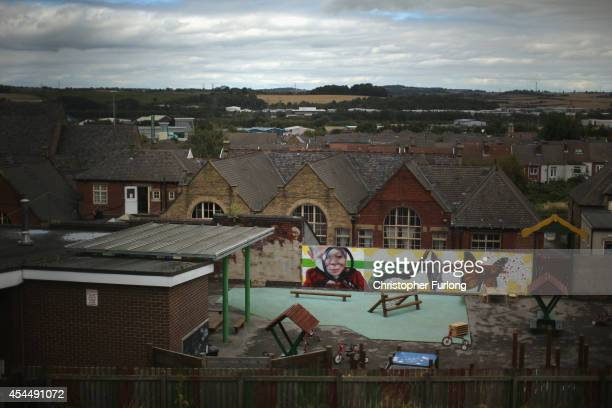 A general view showing housing in Rotherham on September 1 2014 in Rotherham England South Yorkshire Police are launching an independent...