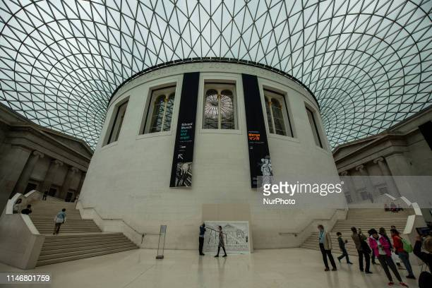A General view showing the British Museum in London United Kingdom 28 May 2019
