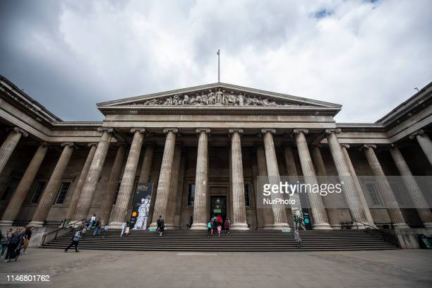 General view showing the British Museum in London, United Kingdom. 28 May 2019.