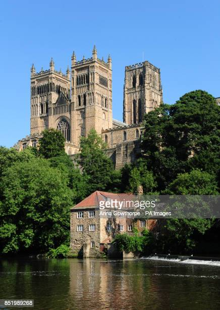 A general view showing the River Wear and Durham Cathedral in Durham PRESS ASSOCIATION Photo Picture date Monday August 26 2013 Photo credit should...