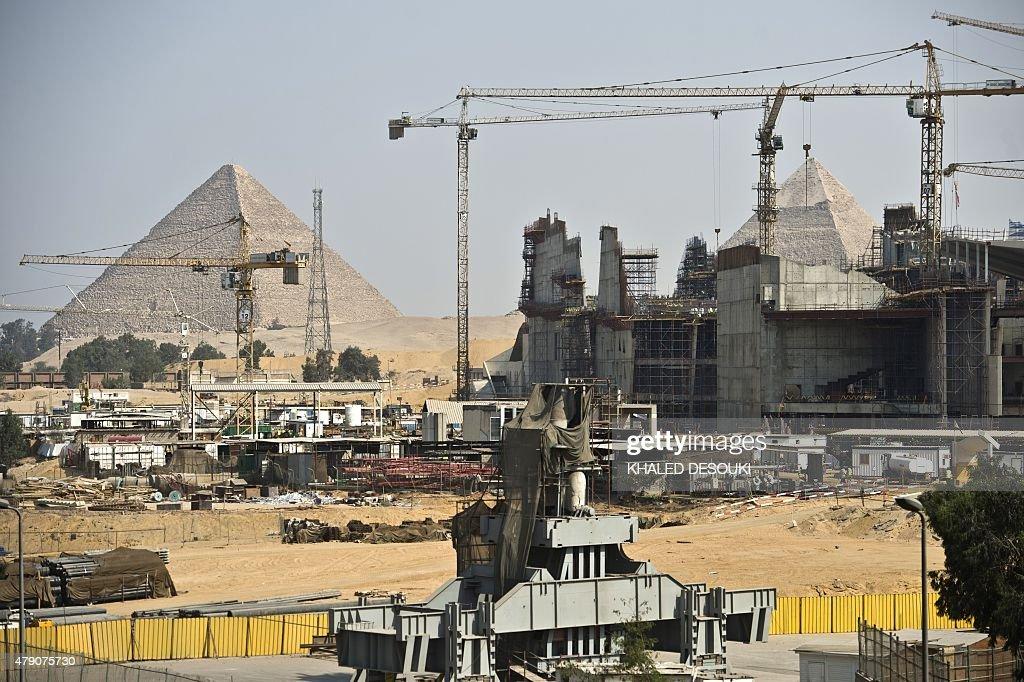EGYPT-MUSEUM-HISTORY-TOURISM : News Photo