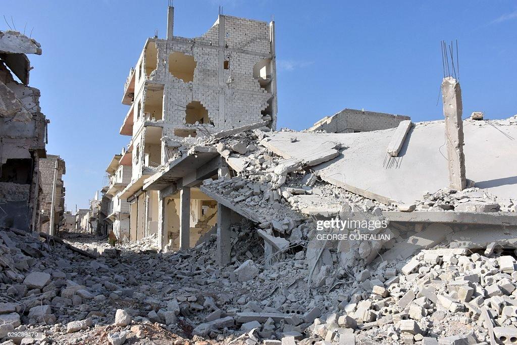 SYRIA-CONFLICT-ALEPPO : Nachrichtenfoto