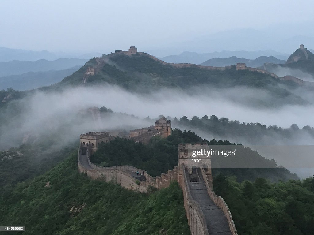 Jinshanling Great Wall In Chengde : News Photo