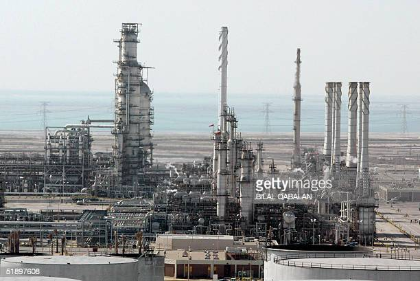 A general view shows Ras Tannura's oil production plant near Dammam in Saudi Arabia's eastern province 27 December 2004 The world's number one...