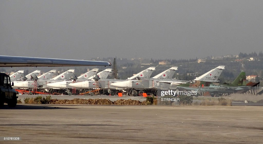 SYRIA-CONFLICT-RUSSIA-MILITARY : News Photo
