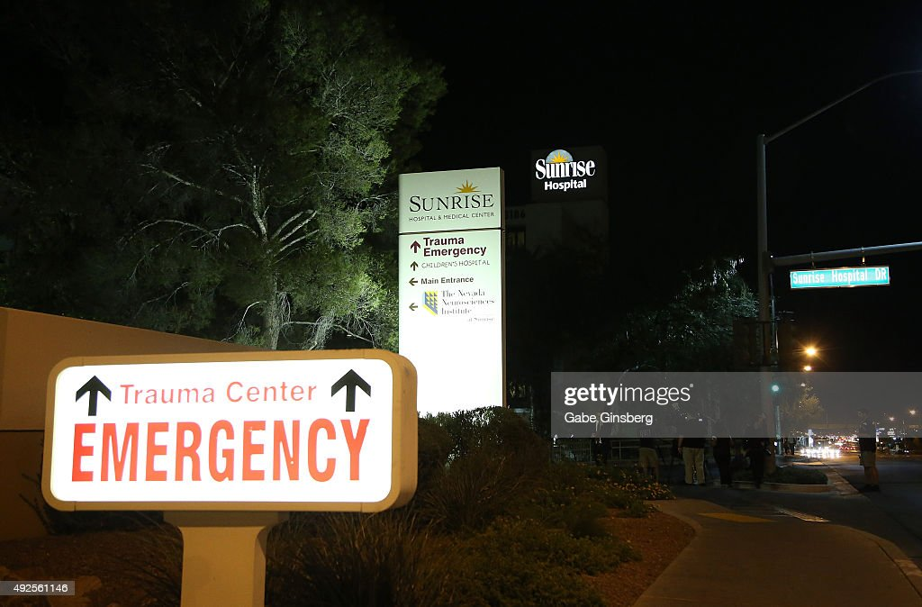 Lamar Odom Reportedly Being Treated At Sunrise Hospital & Medical Center : News Photo