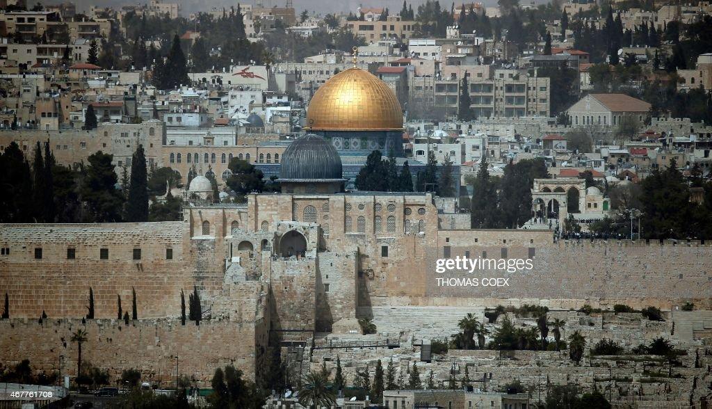 ISRAEL-PALESTINIAN-JERUSALEM : News Photo