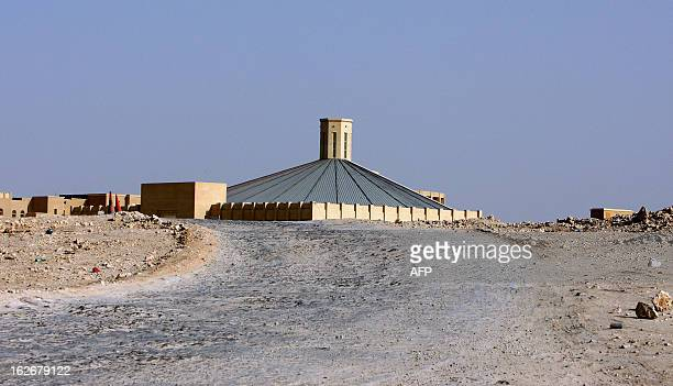 A general view shows the first church in Doha on February 15 2008 A bitter debate has broken out in the tiny oilrich Gulf state of Qatar over...