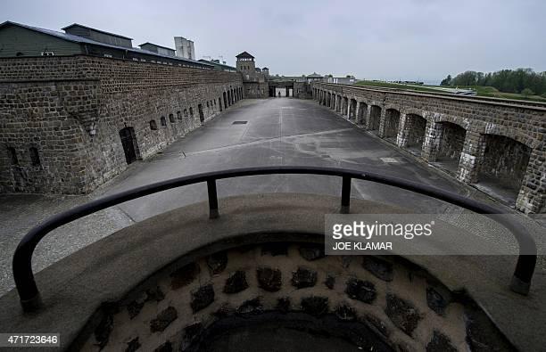 A general view shows the former Nazi concentration camp Mauthausen northern Austria on April 28 2015 AFP PHOTO / JOE KLAMAR