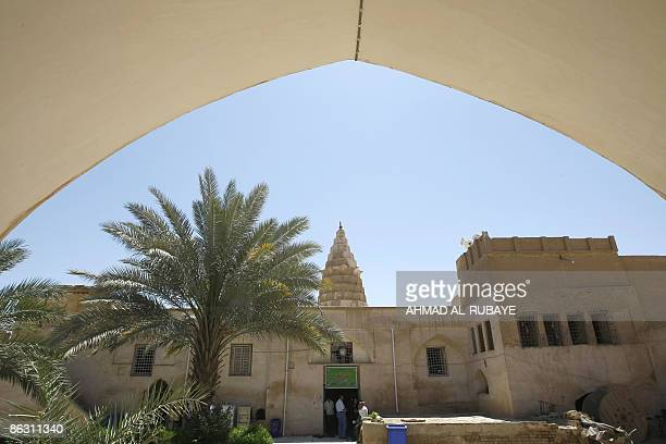 KRAUSS A general view shows the front entrance of a mosque at the Jewish shrine of Ezekiel the prophet who followed the Judeans into the Babylonian...
