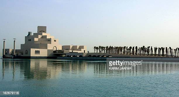 A general view shows the new Islamic Museum of Art in Doha Qatar 08 April 2007 The rich emirate of Qatar has launched a programme to become a country...