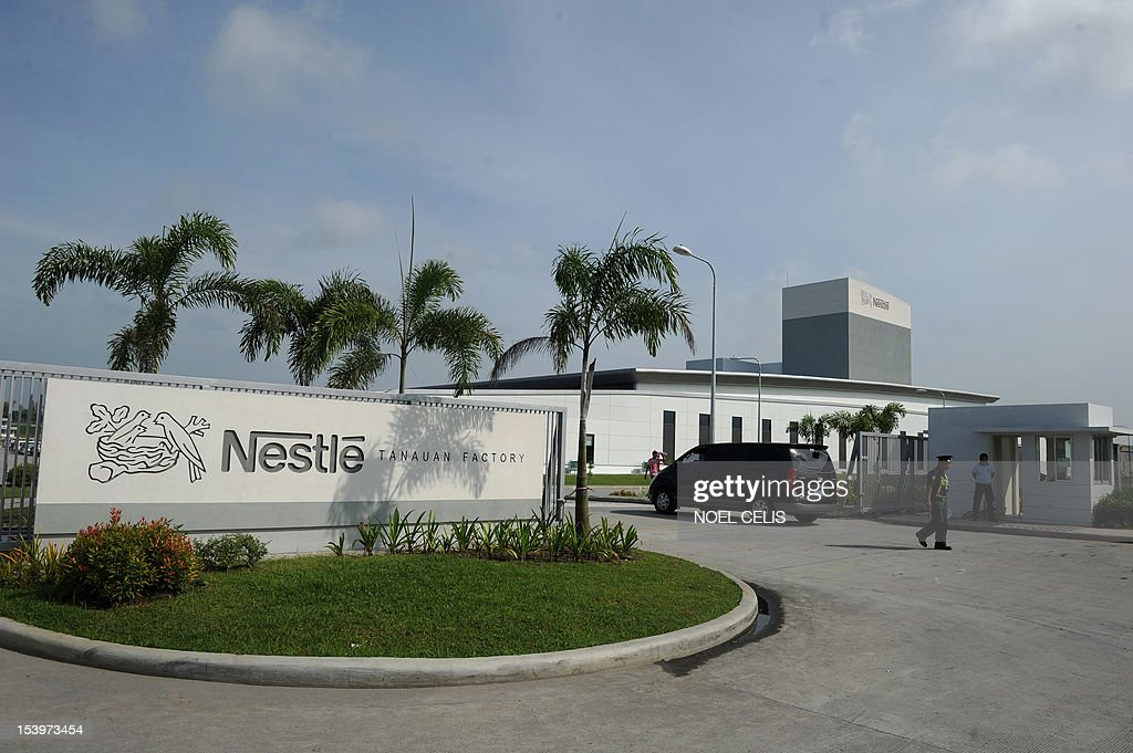 A General View Shows The Newly Inaugurated Nestle