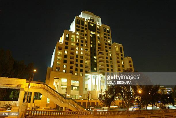 A general view shows the newlyopened Four Seasons hotel in Damascus 22 March 2006 Syrian President Bashar alAssad and Saudi Prince alWaleed bin Talal...
