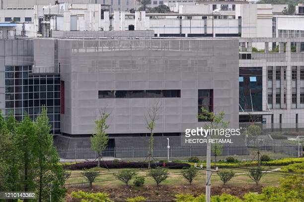 General view shows the P4 laboratory at the Wuhan Institute of Virology in Wuhan in China's central Hubei province on April 17, 2020. - The P4...