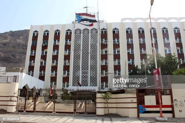 A general view shows the provincial office in Aden on January 31 2018 / AFP PHOTO / SALEH ALOBEIDI
