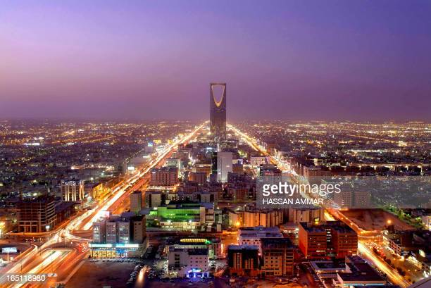 A general view shows the Saudi capital Riyadh late 03 October 2007 AFP PHOTO/HASSAN AMMAR