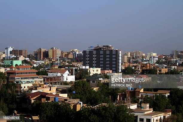 General view shows the skyline of the Sudanese capital Khartoum on April 21, 2010. The southern former rebel Sudan People's Liberation Movement...
