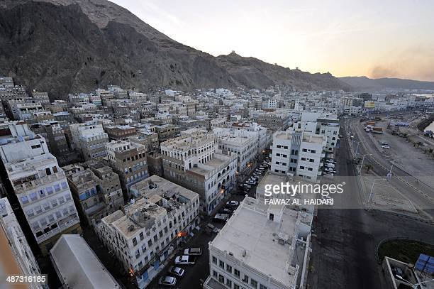 A general view shows the southeastern Yemen city of Mukalla on April 29 2014 Suspected AlQaeda militants killed 18 Yemeni soldiers in separate...