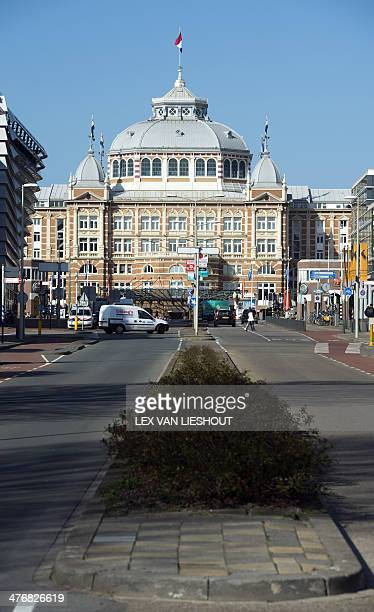 General view shows the Steinberger Kurhaus Hotel in Scheveningen, The Netherlands, on March 5, 2014. Some of the world leaders will stay in the hotel...