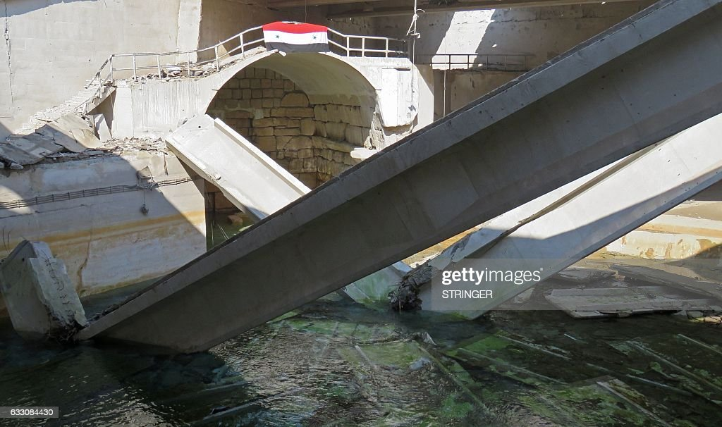 SYRIA-CONFLICT-WATER : News Photo