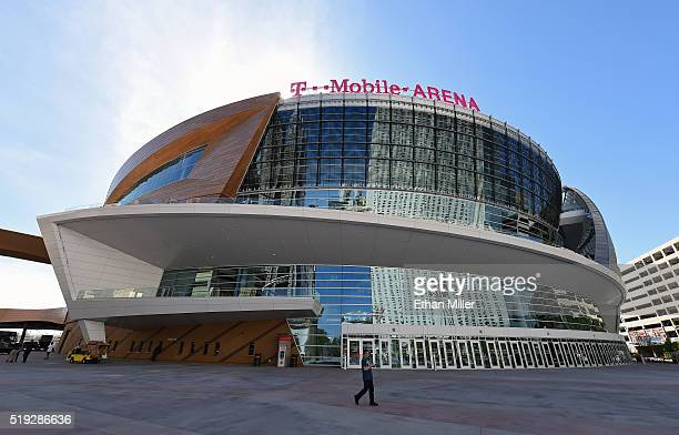 General view shows T-Mobile Arena on April 5, 2016 in Las Vegas, Nevada. The USD 375 million 000-seat sports and entertainment venue, a joint venture...