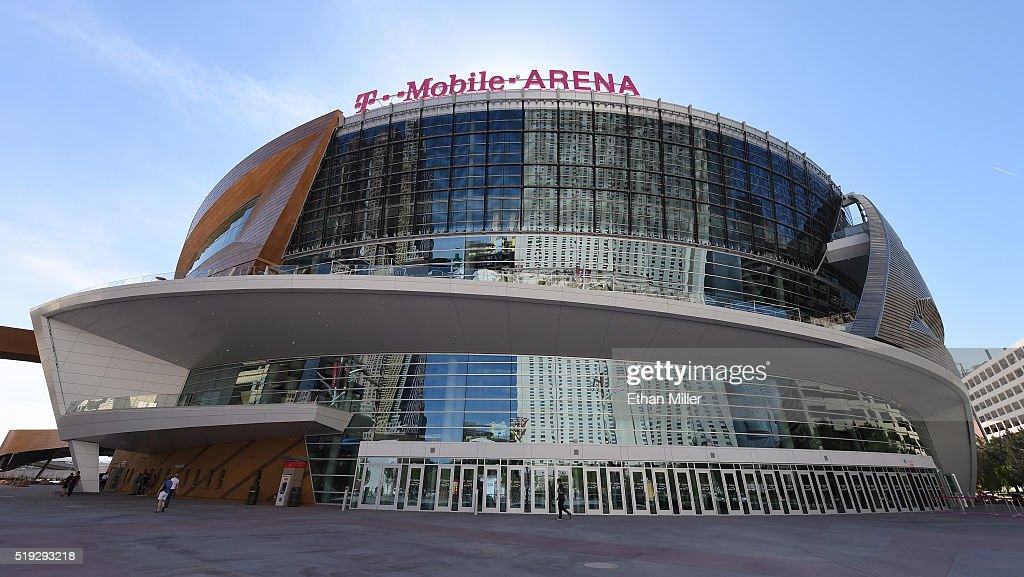 T-Mobile Arena Prepares To Open In Las Vegas : News Photo