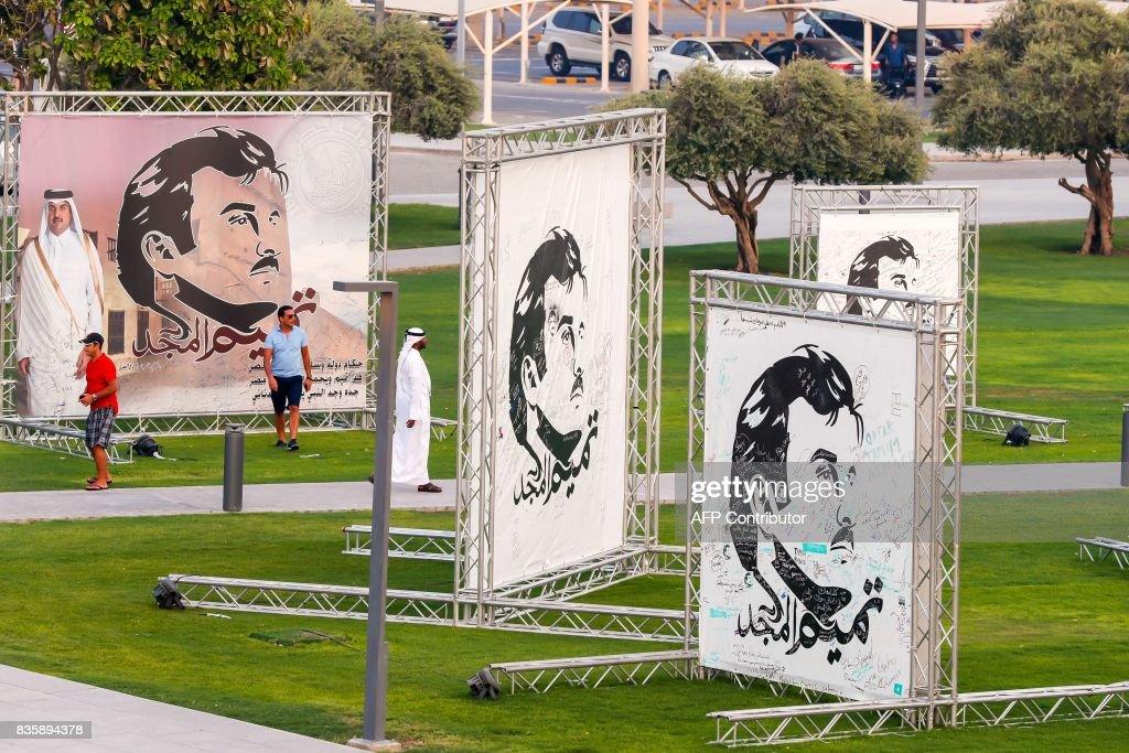 QATAR-ART-EXHIBITION : News Photo