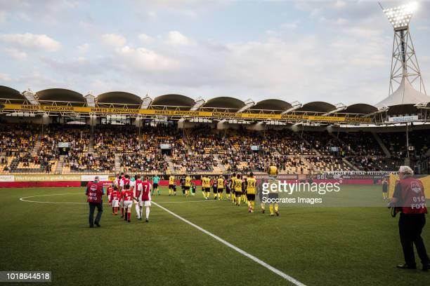 General view stadium of Roda JC during the Dutch Keuken Kampioen Divisie match between Roda JC v Ajax U23 at the Parkstad Limburg Stadium on August...