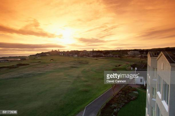 General view taken during a photo shoot of The Old Course at St Andrew's Scotland