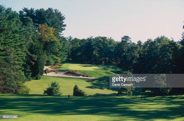 General view taken during a Pine Valley Golf Club photo shoot held in October 1996 at the Pine Valley Golf Club, in New Jersey, USA.