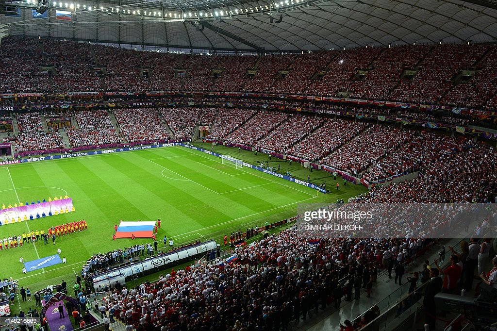 General view taken during the Euro 2012  : News Photo